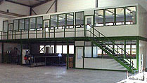 Hallenbüro