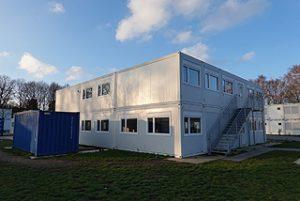 Containeranlage für Schule und Kindergarten