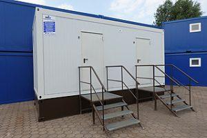 Sanitärcontainer für Schulen