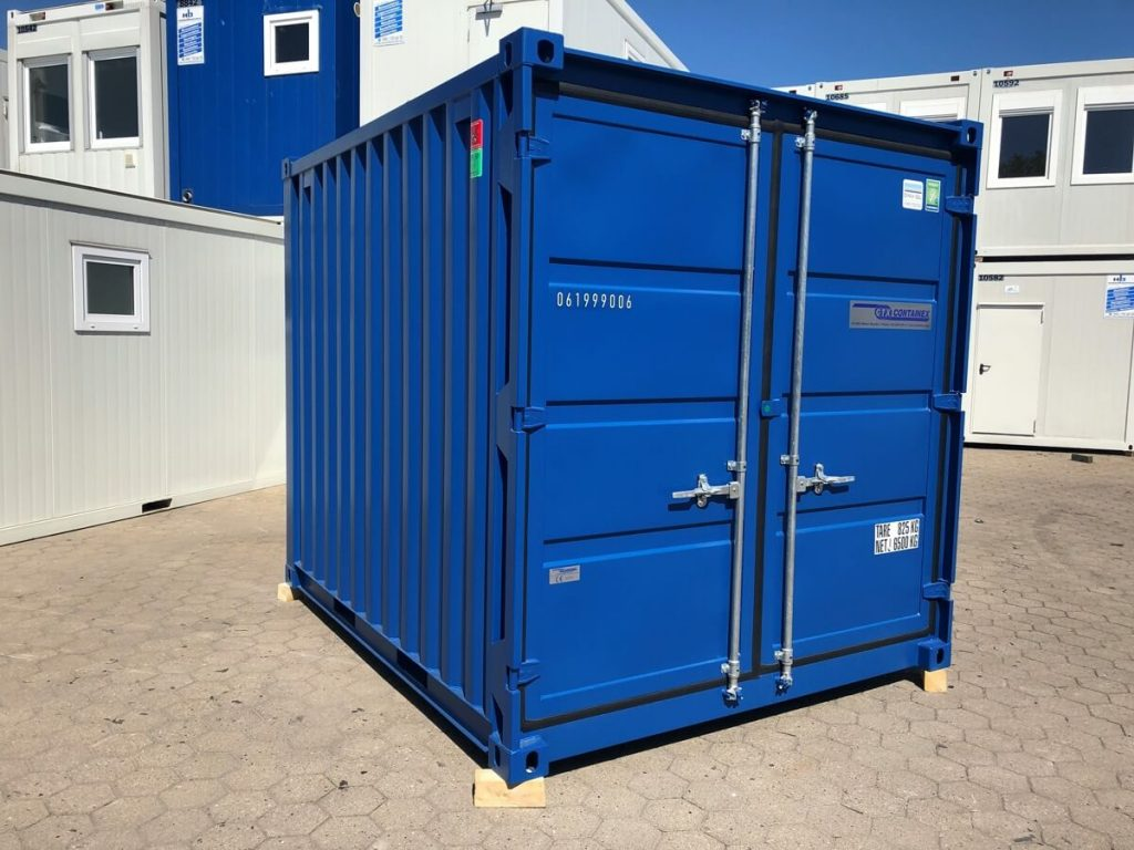 Hansa Baustahl 10 Fuß Lagercontainer Seecontainer